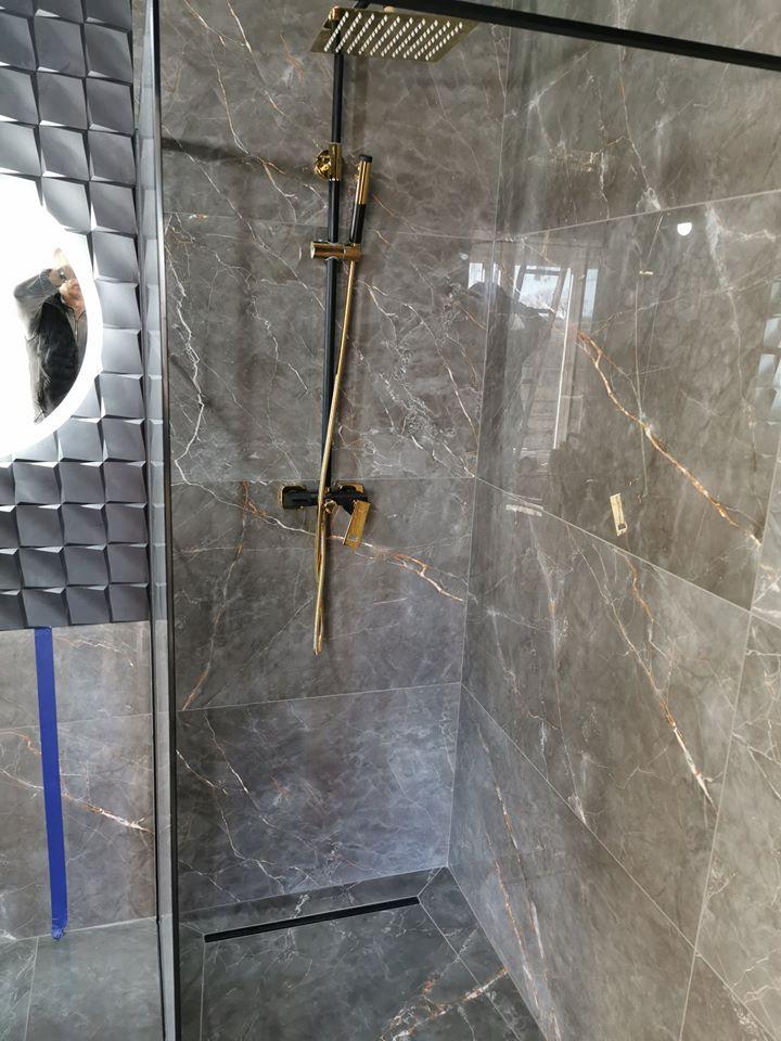 wykończenia wnętrz remont łazienki