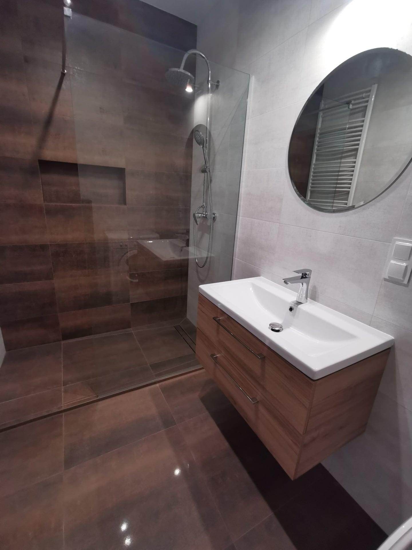 Wykonanie łazienki z przeróbką hydrauliki